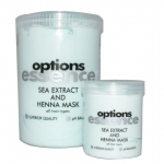 Options Sea Extract and Henna Mask